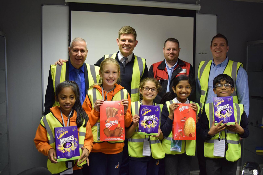 Whitehouse Primary School Children Visit Burnetts Manufacturing
