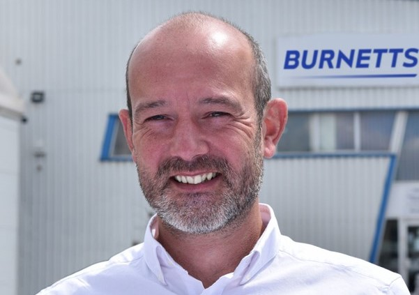 Rich Dixon joins Burnetts as Technical Sales Manager